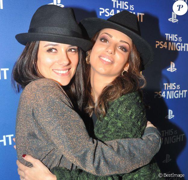 La chanteuse Tal et la chanteuse Alizee - Soirée de lancement de la console Playstation 4 Sony au centre culturel alternatif Electric à Paris le 28 novembre 2013.