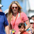 La fille de Tiger Woods Sam Alexis Woods et Lindsey Vonn ont assisté au dernier tour du tournoi Honda Classic au PGA National Resort and Spa dePalm Beach Gardens, le 2 mars 2014