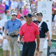 Tiger Woods lors du dernier tour du tournoi Honda Classic au PGA National Resort and Spa dePalm Beach Gardens, le 2 mars 2014