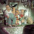 """Sylvain Chomet réalise un """"Couch gag"""" pour la série Les Simpson."""