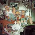 Sylvain Chomet rejoue le générique de la série Les Simpson, et la famille presque au complet...