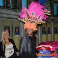Jessica et Julien de retour à Paris après le tournage de l'émission 'Les Marseillais a Rio' pour W9, le 6 mars 2014, à l'aéroport Roissy Charles de Gaulle.