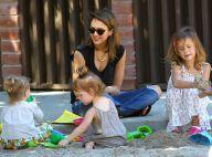 Jessica Alba : Avec son amoureux et ses filles, journée détente au parc
