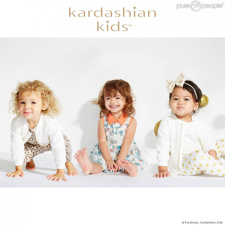 Les soeurs Kardashian lancent Kardashian Kids, leur ligne de vêtements pour bébés, disponible chez Babies R Us.