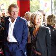 Claire Chazal et Patrick Poivre d'Arvor à Paris le 29 août 2007.