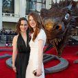 """Emilia Clarke et Rose Lesley - Première de la saison 4 de """"Game of Thrones"""" au Lincoln Center à New York, le 18 mars 2014."""