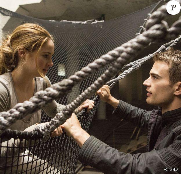 Le film Divergente avec Shailene Woodley et Theo James