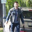 Matthew Rutler, fiancé de Christina Aguilera, à Beverly Hills le 21 mars 2014