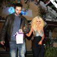 Christina Aguilera et son fiancé Matthew Rutler à Los Angeles le 17 décembre 2013