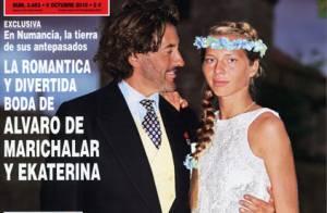 Alvaro de Marichalar: L'aventurier, effondré, se sépare de sa jeune épouse russe