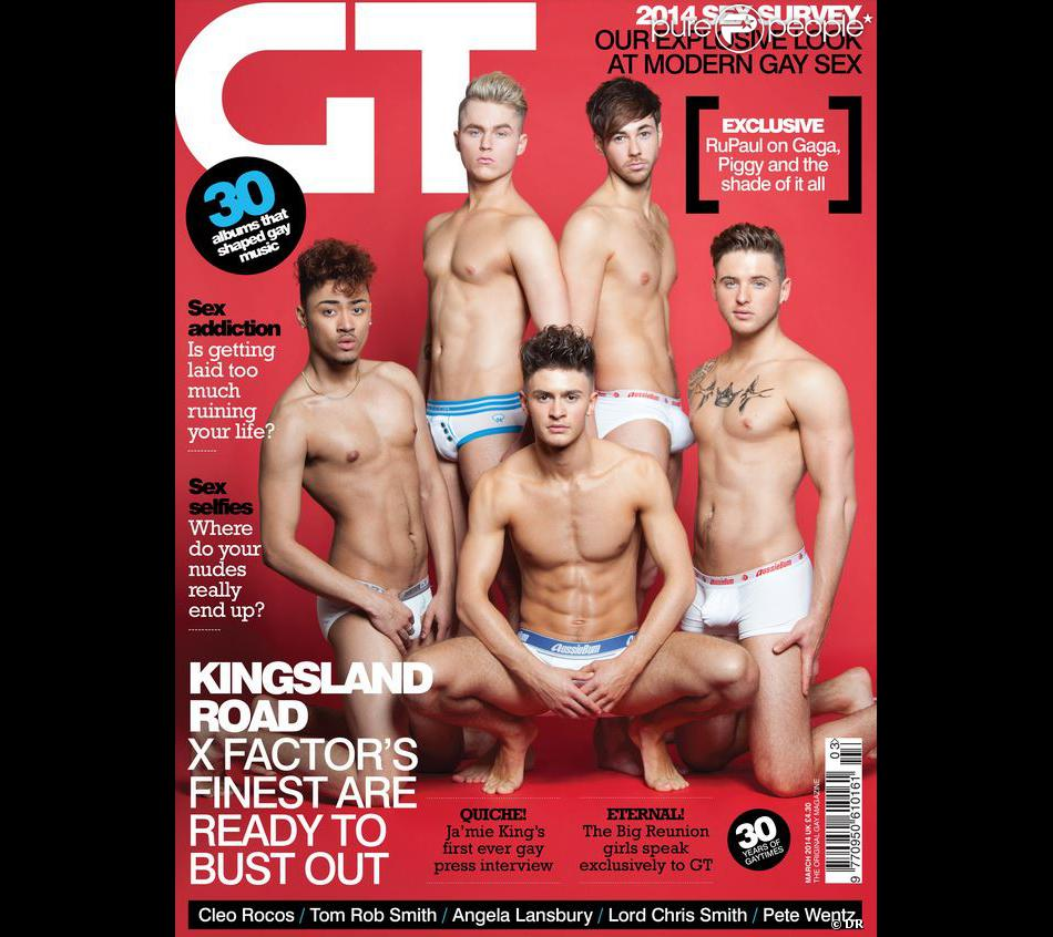 Kingsland Road en couverture de Gay Times, mars 2014.