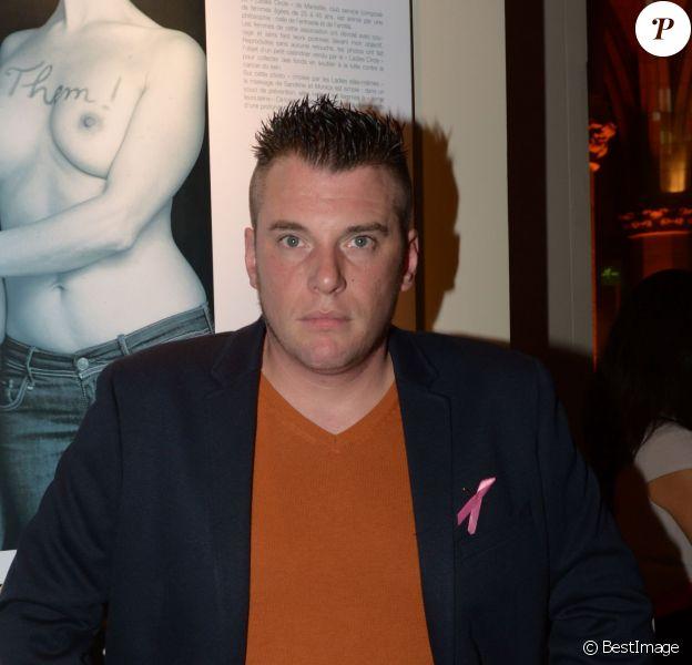 """Norbert Tarayre - Soirée """"Octobre Rose"""" organisée par Estée Lauder pour l'association """"Le Cancer du Sein, Parlons-en !"""" à la Conciergerie à Paris, le 30 septembre 2013."""