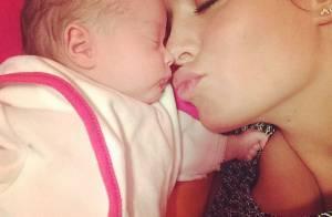 Jade Foret, fière de sa petite Mila : Une maman sublimée par la maternité...
