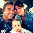 Jade Foret, son mari et leur adorable Liva.