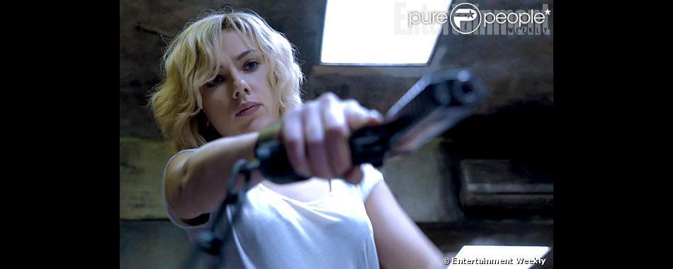 Première image du film Lucy de Luc Besson avec Scarlett Johansson