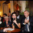 Rachida Dati réelue maire du VII eme avec succés !