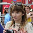 """Exclusif - Claire Keim participe au tournage du téléfilm """"La Dernière Echappée"""" réalisé par Fabien Onteniente, le 15 mars 2014."""