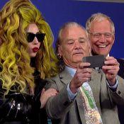 Lady Gaga en délire : 4 looks en une journée et un selfie avec Bill Murray !