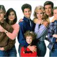 """Jeremy Miller, Leonardo DiCaprio et l'équipe de """"Quoi de neuf, docteur ?"""" (1985-1992-."""