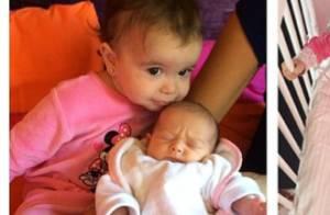 Jade Foret : Ses craquantes filles Liva et Mila sont déjà inséparables