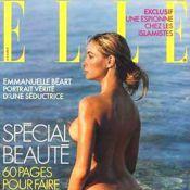 Emmanuelle Béart nue pour ELLE : 'C'était bien de montrer cette nudité à 40 ans'