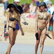 Eddie Murphy : Ses filles Shayne et Bria, sexy en bikinis, profitent de la plage