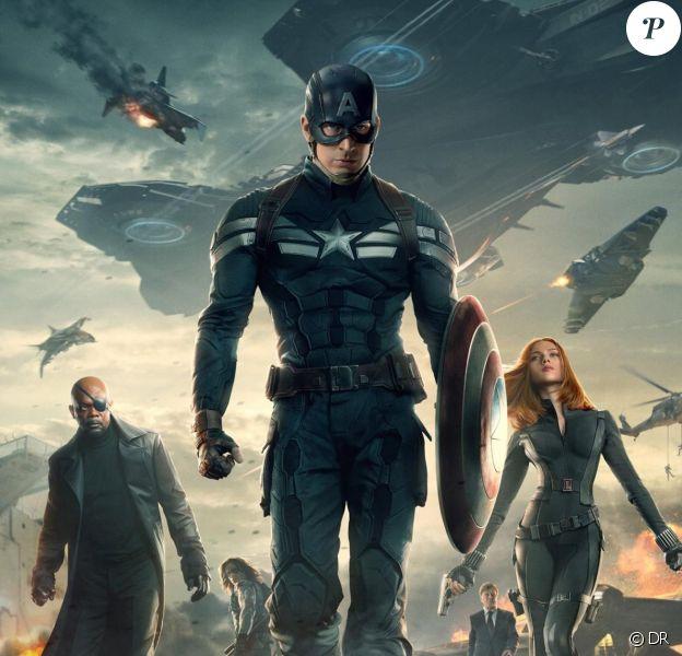 Affiche du film Captain America - Le Soldat de l'hiver
