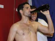 Arnaud Clément, Gaël Monfils... Douche de champagne après l'exploit en Coupe Davis