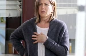 Jennifer Aniston, cicatrices et look vieillot : Justin Theroux vient la soutenir