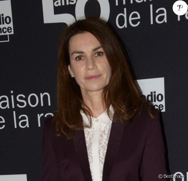 Exclusif - Valérie Kaprisky lors du 50eme anniversaire de la maison de la radio à Paris le 17 décembre 2013