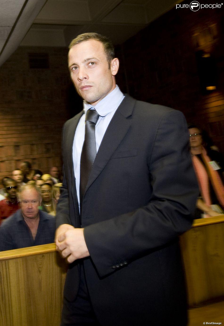 Oscar Pistorius lors de son procès à Pretoria, le 21 février 2014.