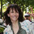 Exclusif - Sophie Marceau à Paris le 9 avril 2014