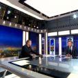 Francis Huster invité du JT de Laurent Delahousse, dimanche 13 avril 2014 sur France 2.