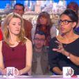 Audrey Pulvar et Roselyne Bachelot critiquent les méthodes journalistiques du Supplément, lundi 14 avril dans le Grand 8.