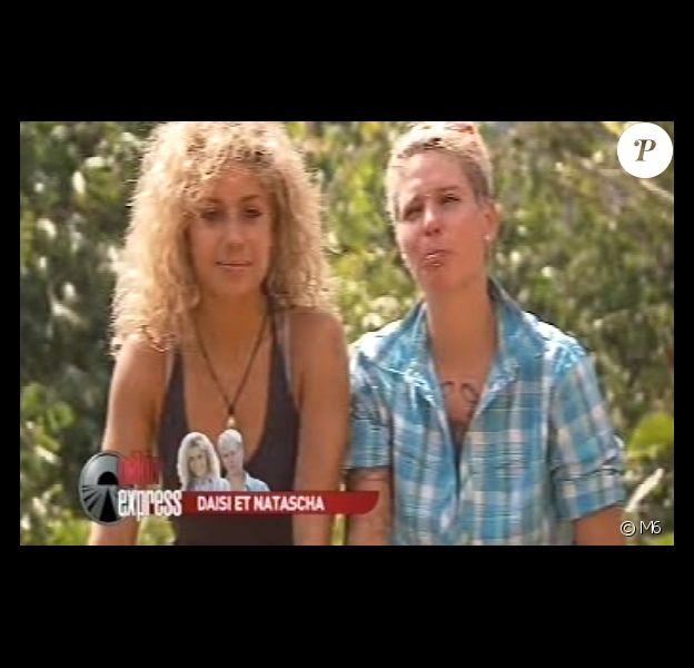 """Daisi et Natascha, les amoureuse suisses - Episode 1 de """"Pékin Express 2014"""". Le 16 avril 2014."""