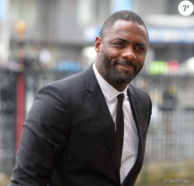 Idris Elba à Londres le 3 mars 2014.
