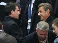 PSG-OL : Nicolas Sarkozy avec Manuel Valls et ses fils réunis dans la victoire