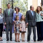 Letizia d'Espagne : Radieuse pour Pâques aux côtés de Juan Carlos et de Felipe