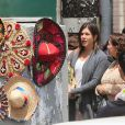 """ Jennifer Aniston sur le tournage du film ""Cake"" à Los Angeles, le 22 avril 2014. """