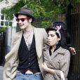 Amy Winehouse et Blake Fielder-Civil à Londres, le 9 juillet 2007.