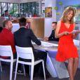 """Claire Barsacq dans """"C à vous"""" sur France 5 le 24 avril 2014."""