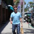 Dean McDermott dans les rues de Beverly Hills, le 28 avril 2014.