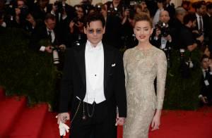 Amber Heard et Johnny Depp, Charlize Theron et Sean Penn : Amoureux au MET Gala