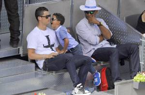 Cristiano Ronaldo : Papa tendre et prévenant avec son fils Cristiano Jr.