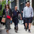 Jake Gyllenhaal se promène dans les rues de New York avec son amoureuse Alyssa Miller le 7 mai 2014