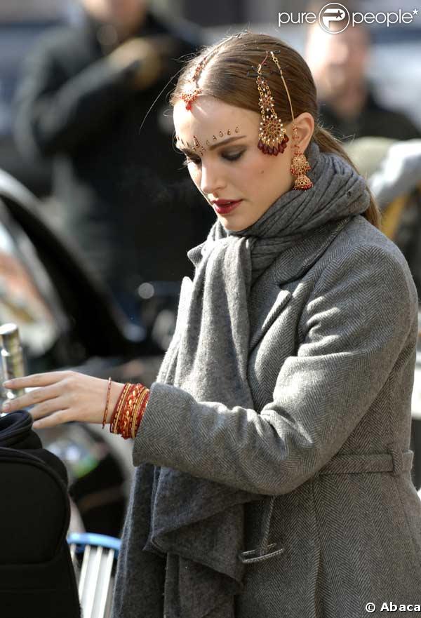 Natalie Portman sur le tournage de New York I love You