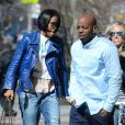 Kelly Rowland et Tim Witherspoon à New York, le 26 mars 2014.