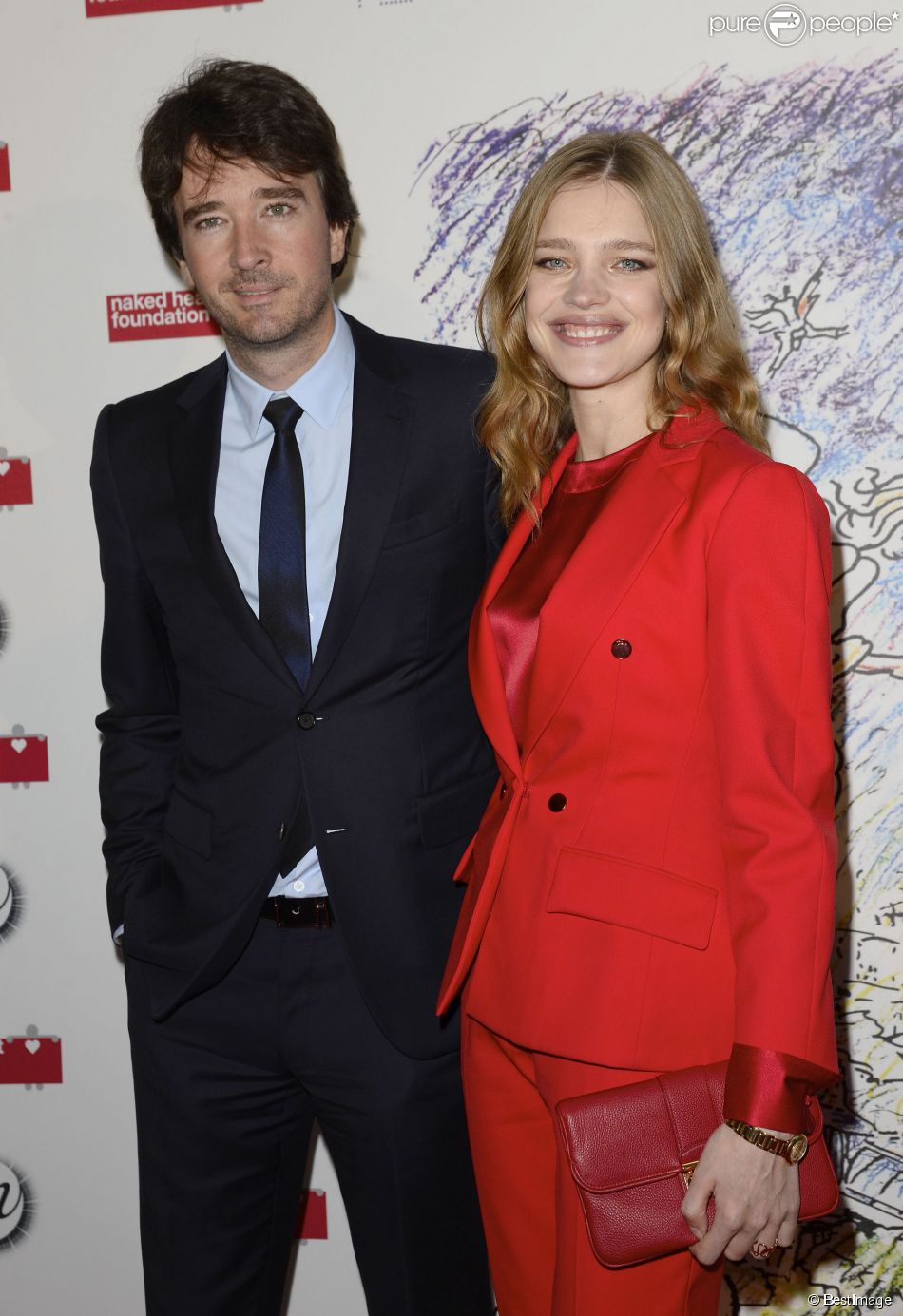 "Antoine Arnault et sa compagne Natalia Vodianova - Soirée ""Monumenta 2014"" au Grand Palais à Paris le 13 mai 2014.  'The strange city' Exhibition by Ilya and Emilia Kabakov at Monumenta 2014 : Dinner to benefit 'Naked Heart Foundation'. Held at Grand Palais on May 13, 2014 in Paris, France.13/05/2014 - Paris"