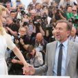 Nicole Kidman et Tim Roth lors du photocall pour Grace de Monaco au Palais des Festivals, pour le 67e Festival de Cannes, le 14 mai 2014.