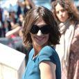Paz Vega arrive au photocall pour Grace de Monaco au Palais des Festivals, pour le 67e Festival de Cannes, le 14 mai 2014.